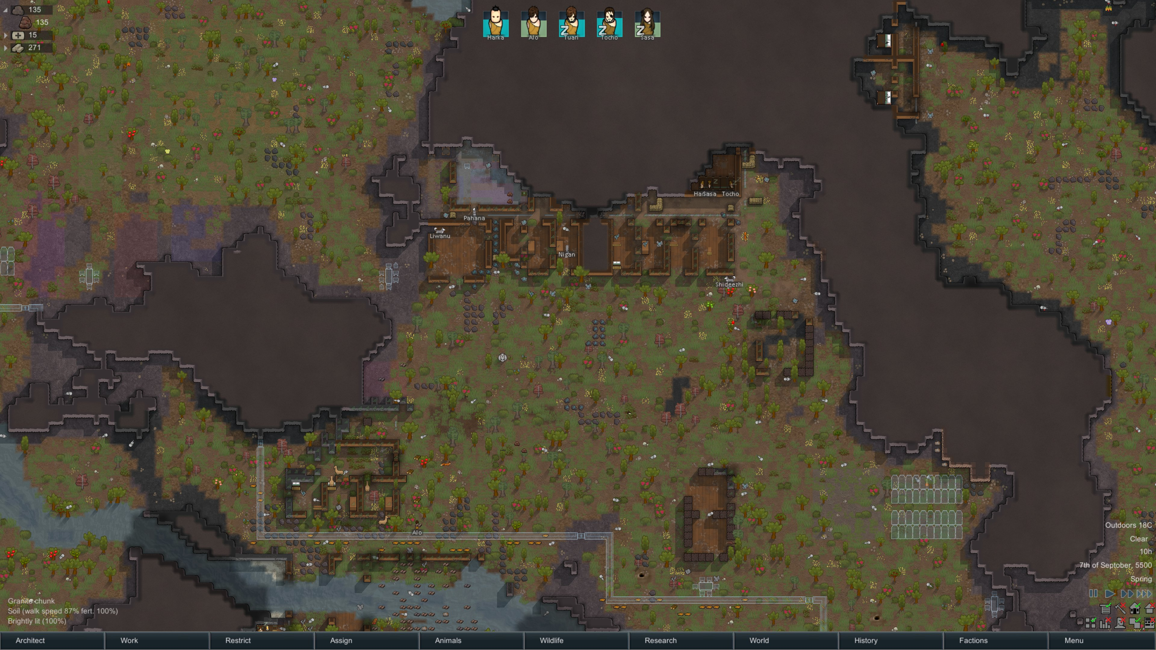 Rimworld: The lost colony of Purdom IV